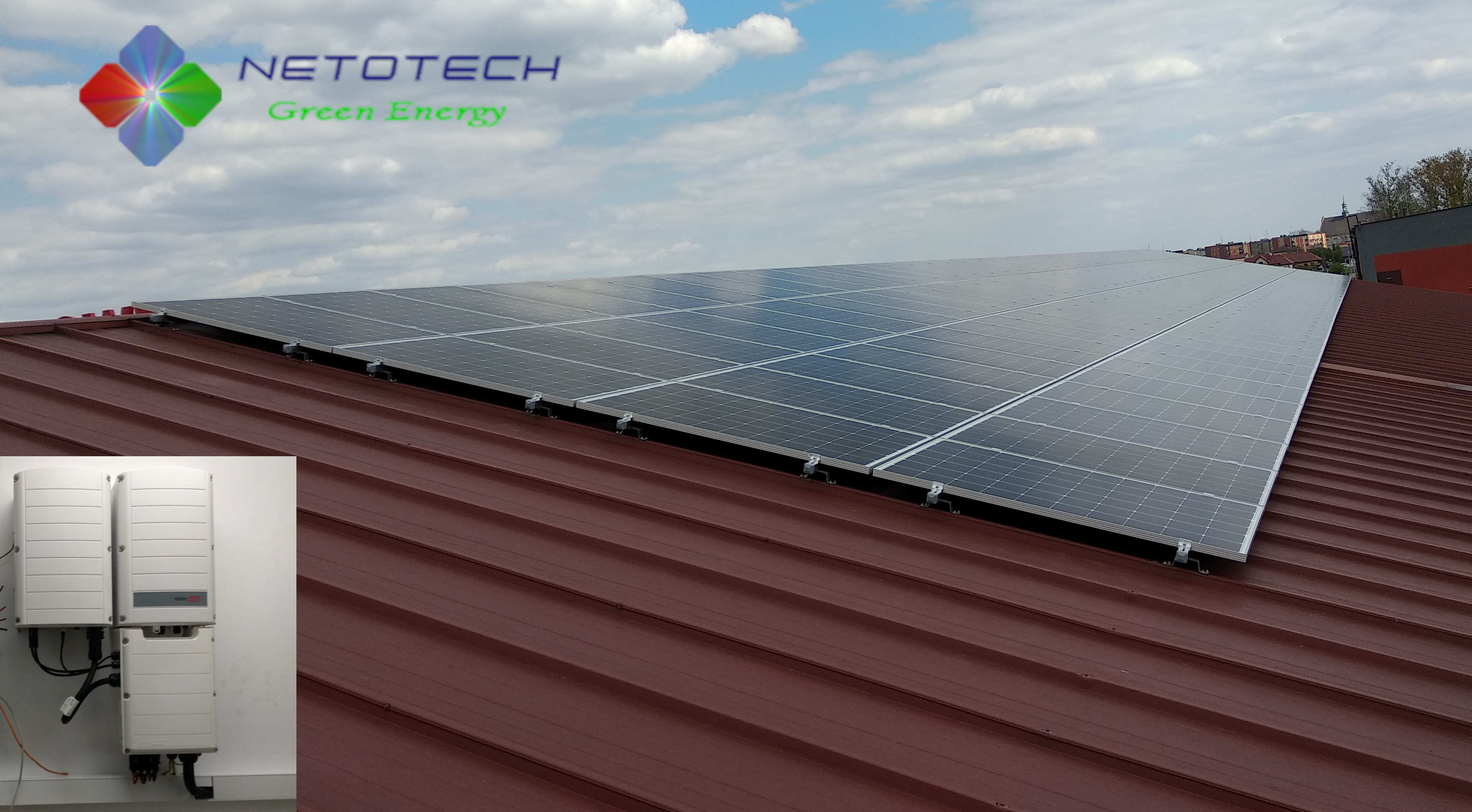 160 x JAM60S01-310  49,6kWp , SolarEdge